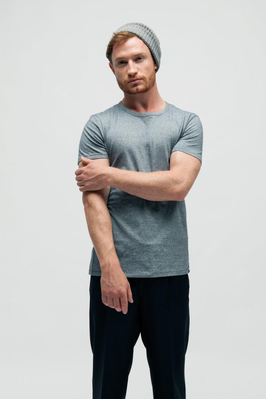 Gestreiftes T-Shirt aus Bio Baumwolle