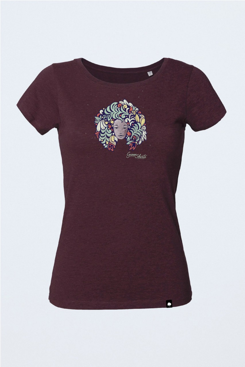 Bio T-Shirt Summer Face für Frauen