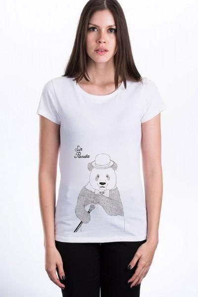 Sir Panda T-Shirt für Frauen