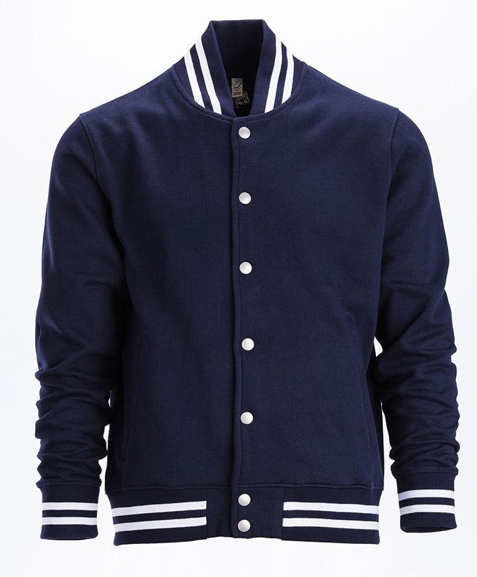 Jacket-Fair-Trade-Kleidung-Maenner-Navy-White-Durchschuss-EP69