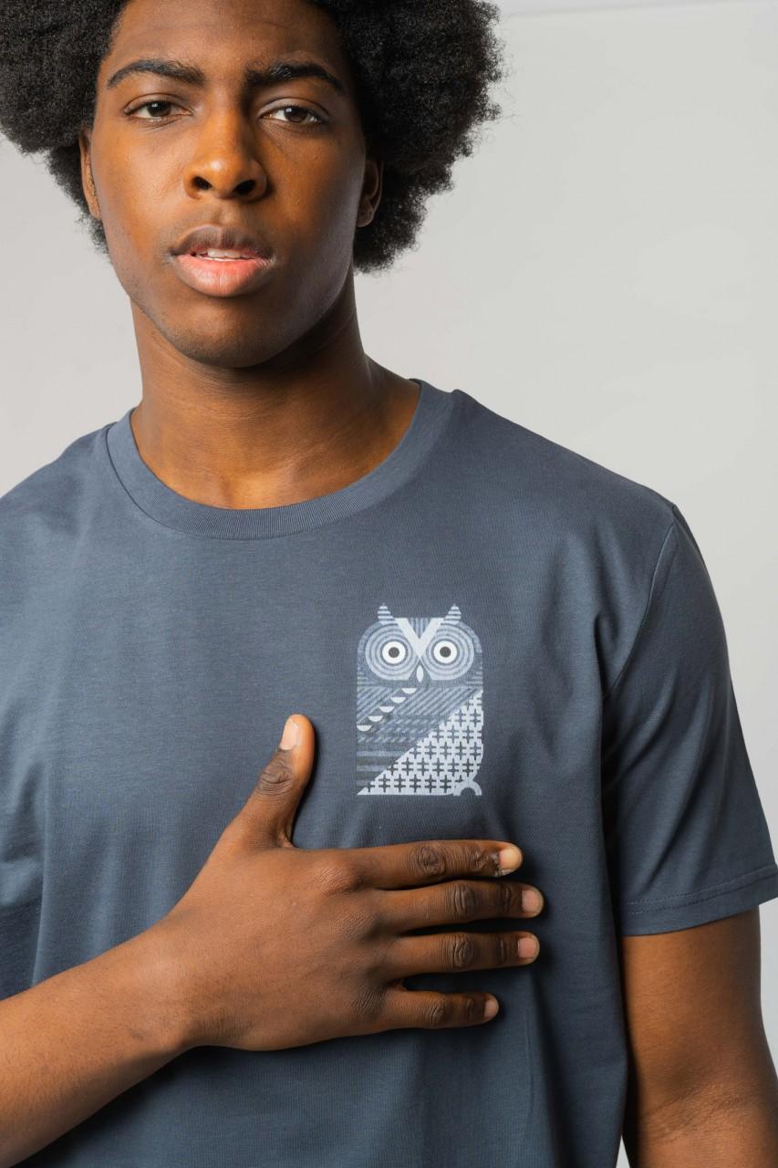 Western Screech Owl Männer T-Shirt