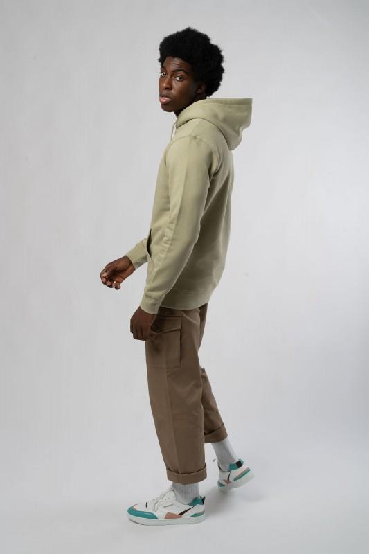Hoodie aus Bio Baumwolle & recyceltem Polyester