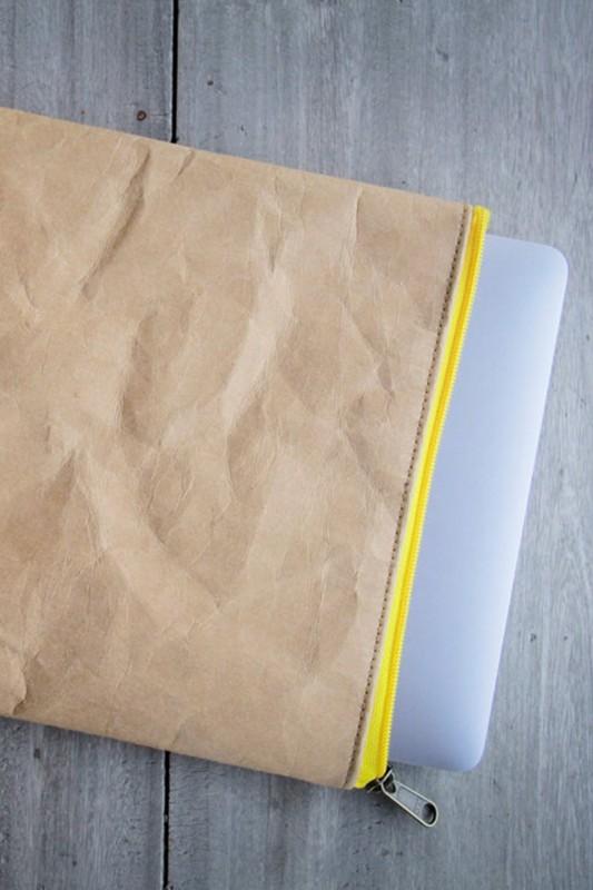 Laptop Case aus Kraftpapier, Notebook Tasche 13