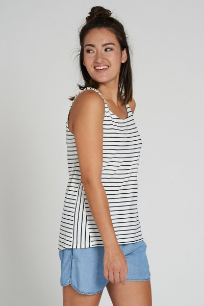 Casual Top #STRIPES aus Bio Baumwolle