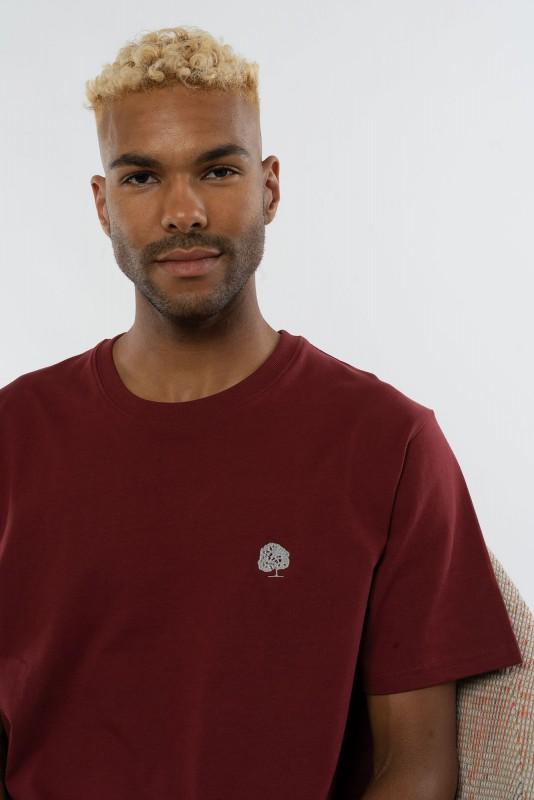 Heavy T-Shirt mit edler Stickerei für Männer