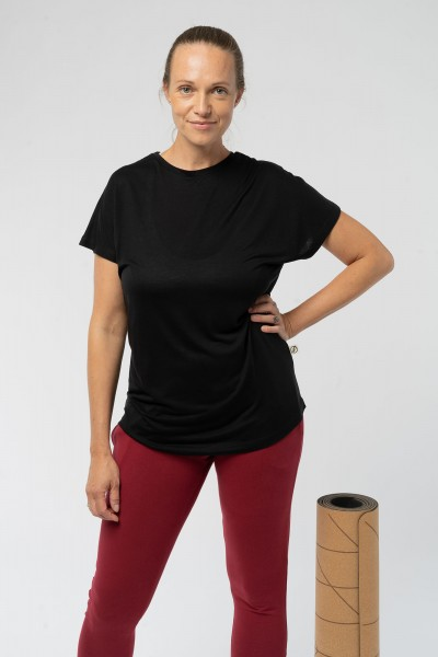 Wide Cut Frauen T-Shirt aus TENCEL™