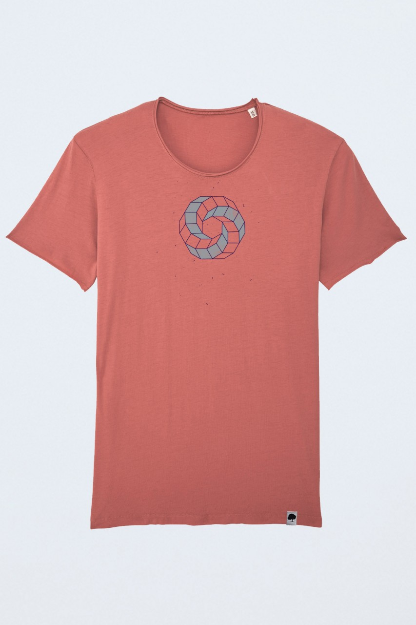 Vintage Circle T-Shirt für Männer
