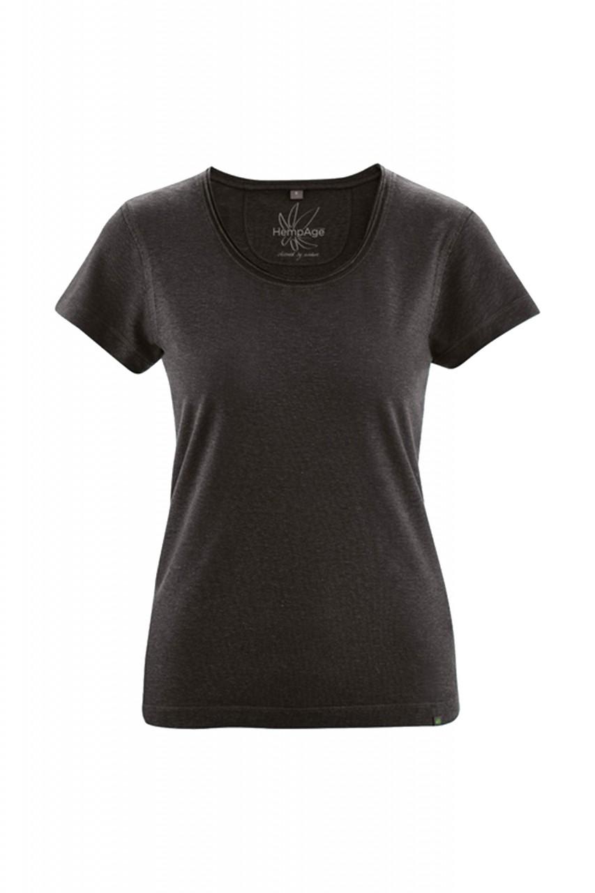 Legeres T-Shirt aus Hanf & Bio Baumwolle