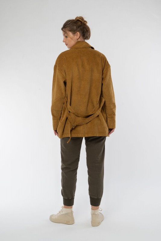 Cord Jacke aus Bio Baumwolle & Hanf