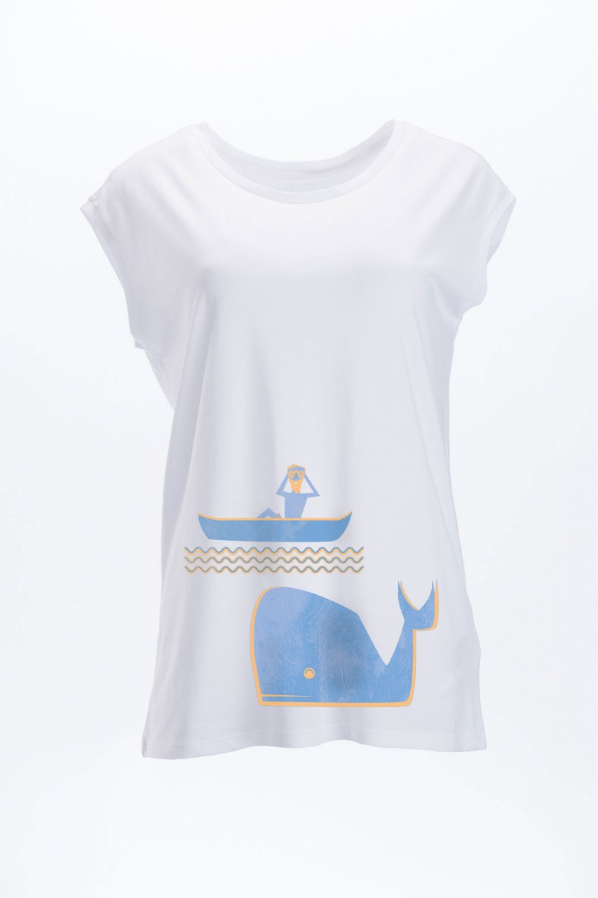 Watch the Whales T-Shirt Tencel