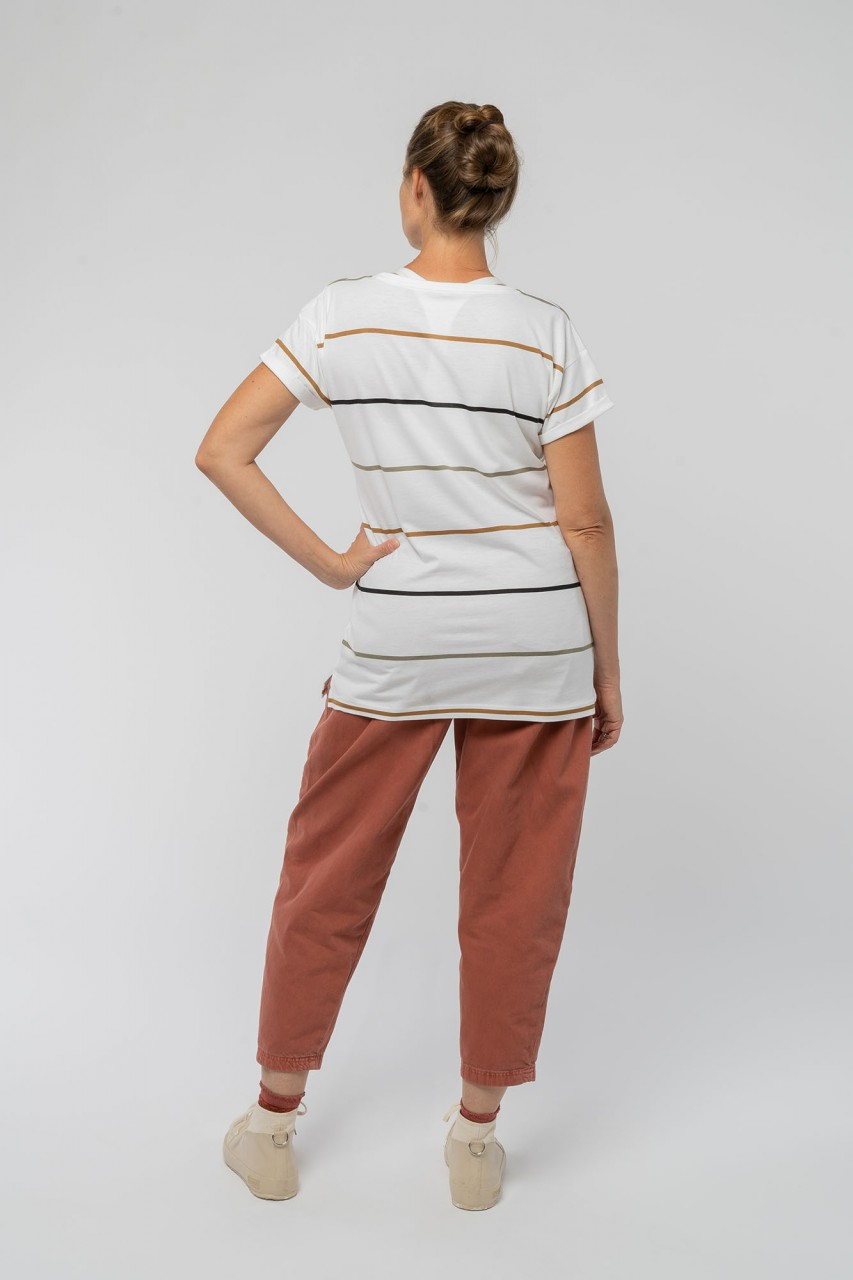 T-shirt made from organic cotton and bamboo