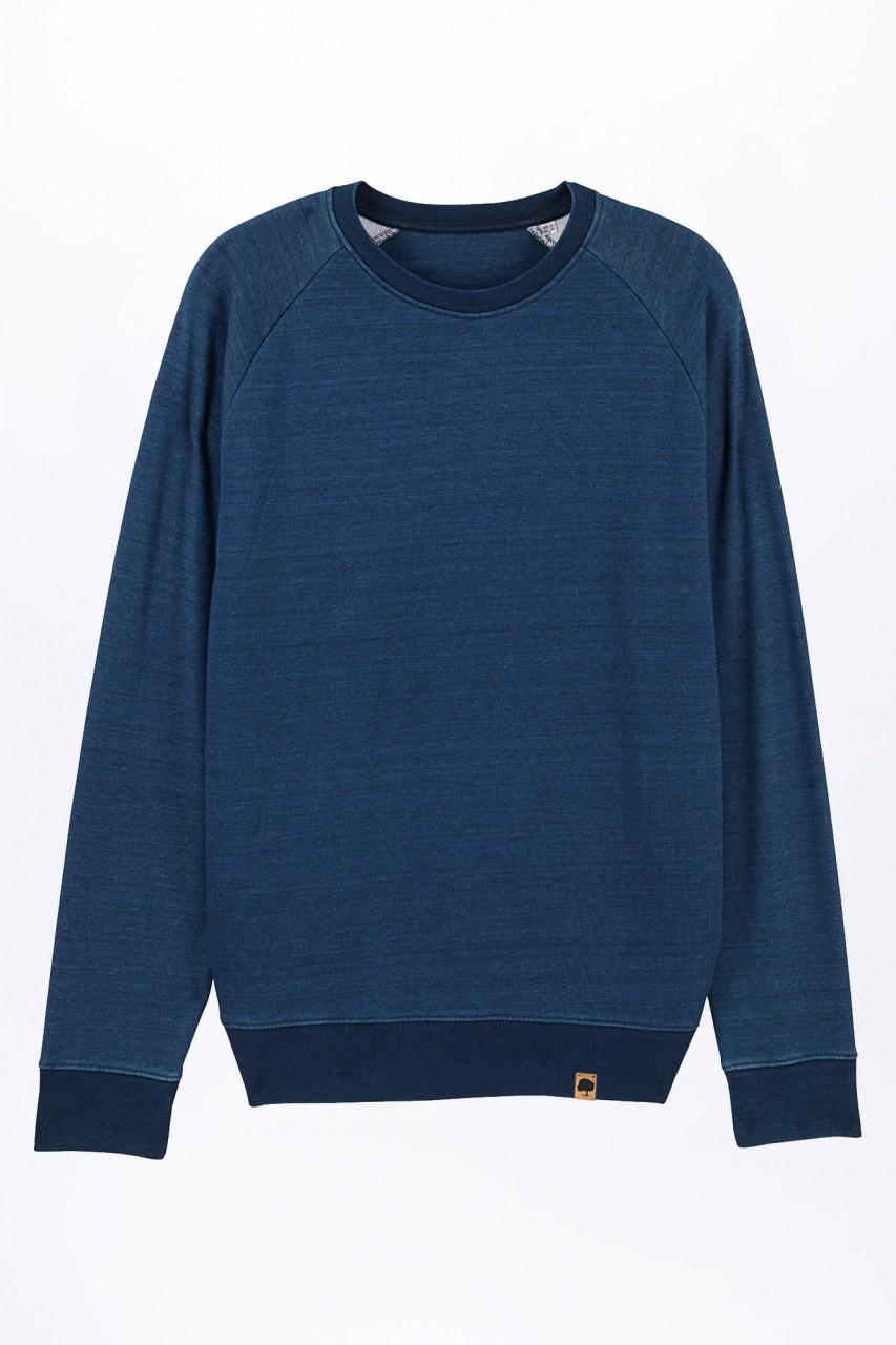 Standard Denim Sweatshirt aus Bio Baumwolle