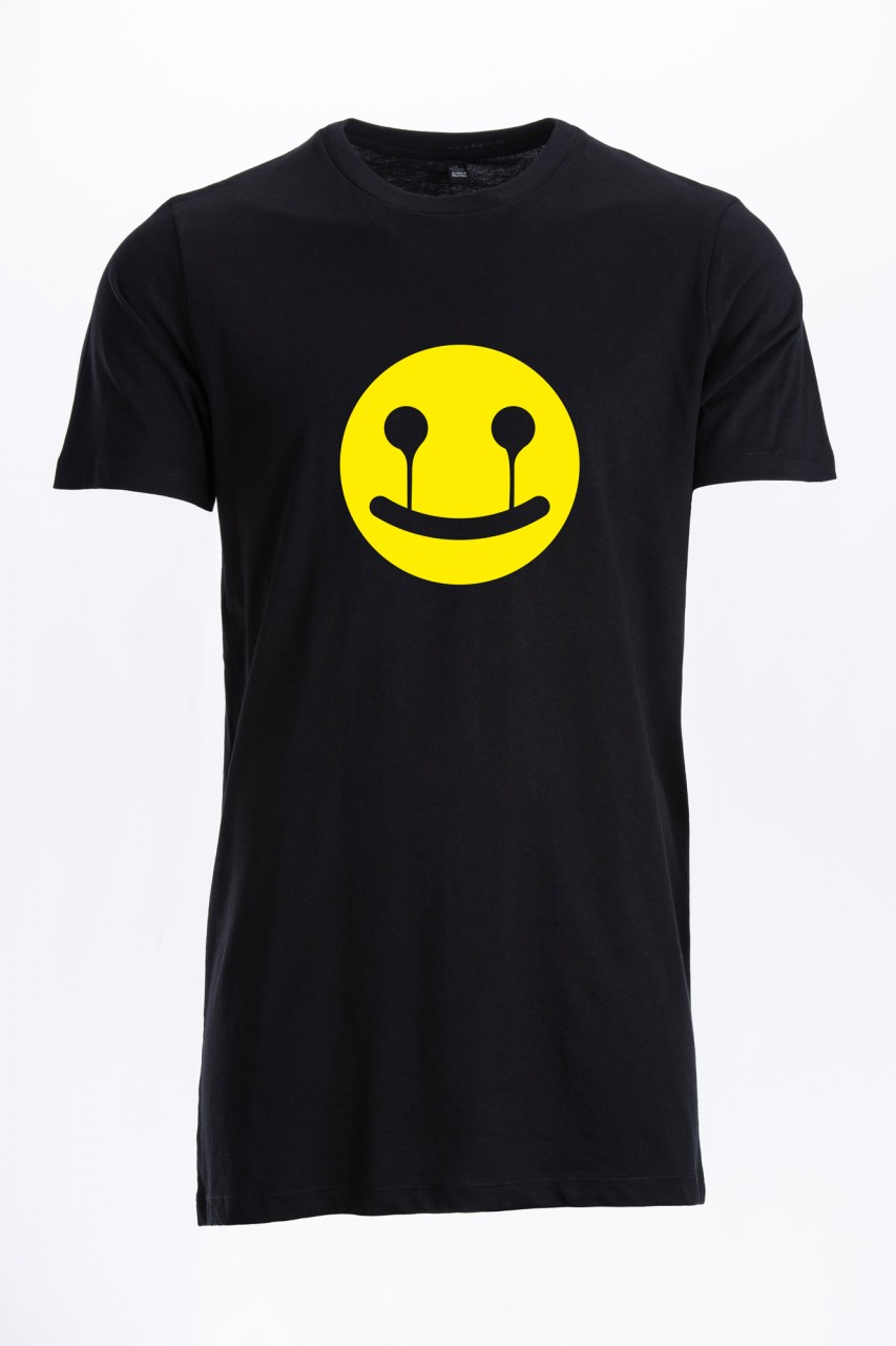 Smile Long T-Shirt für Männer