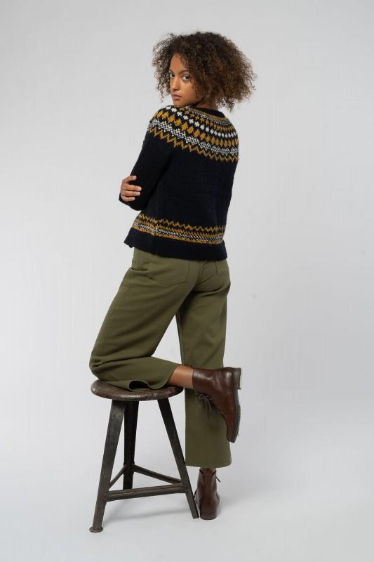 Ariel Wide Leg Jeans aus Bio Baumwolle