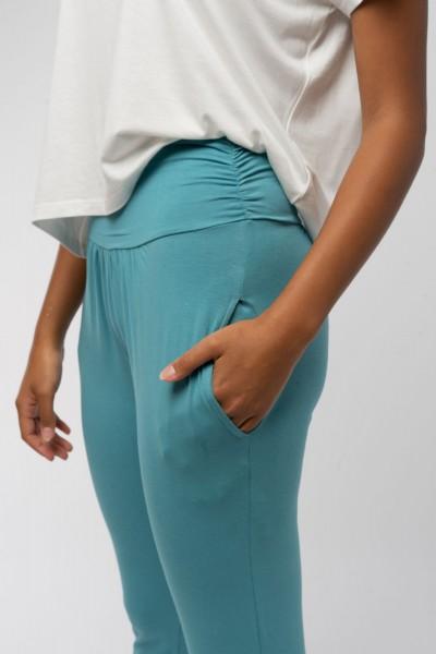 Yoga Hose aus Bio Baumwolle
