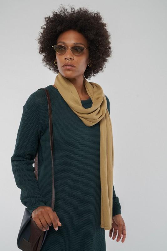 GALIA #points Knit Dress aus Bio Baumwolle