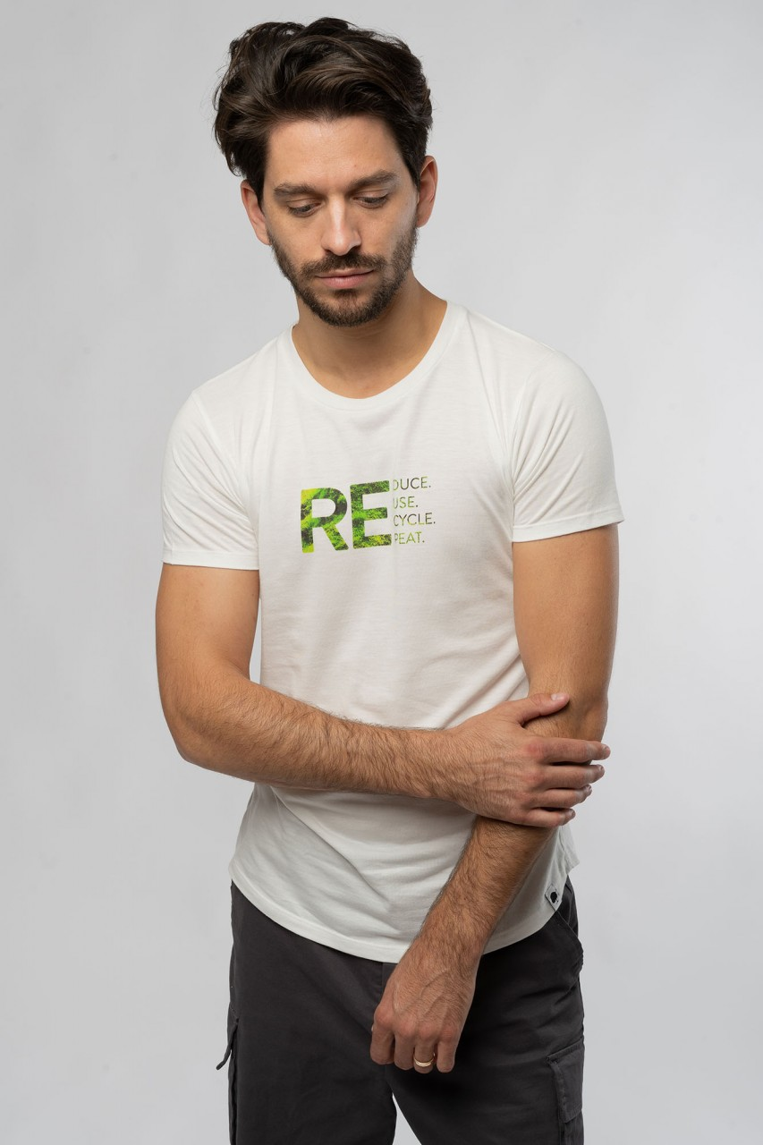 Reduce. Repeat. Männer ECOVERO™ T-Shirt