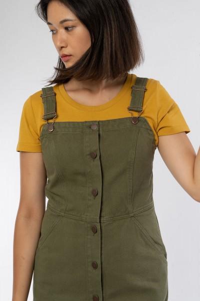 Jerrika Pinafore Kleid aus Bio Baumwolle