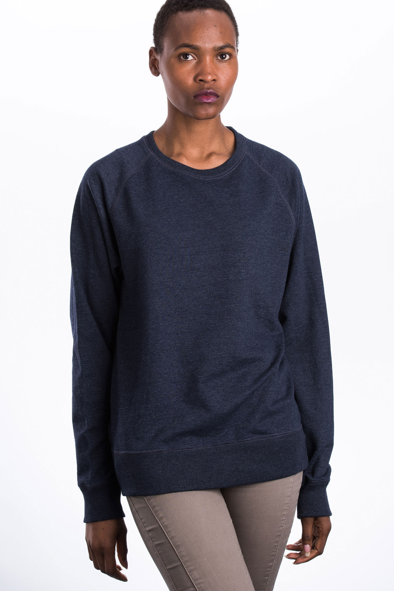 W-SA40-Pullover-Recycled-Fair-Trade-Kleidung-Melange-Navy