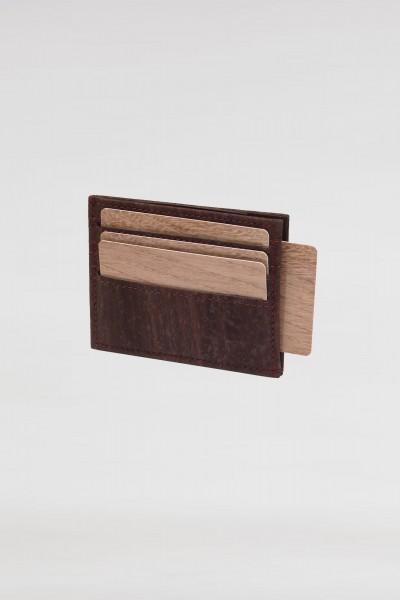 Kreditkartenetui aus Kork