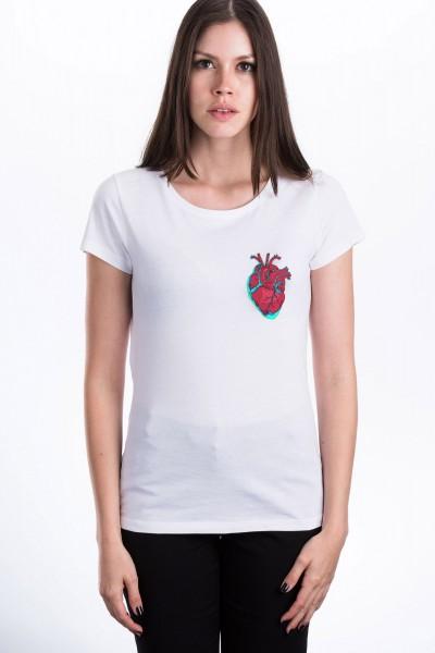 Herz T-Shirt für Frauen