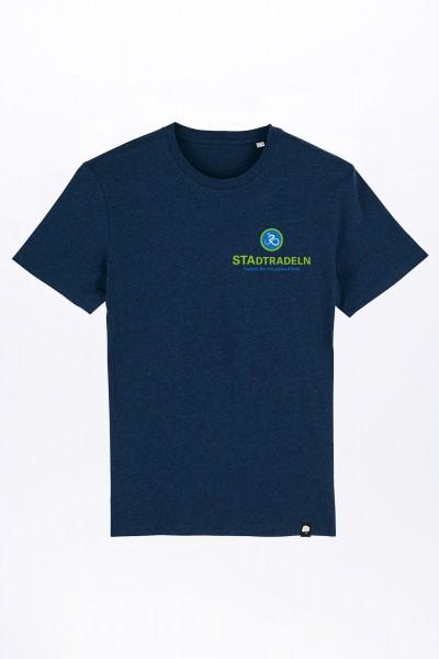 Stadtradeln Klein Bio T-Shirt für Männer