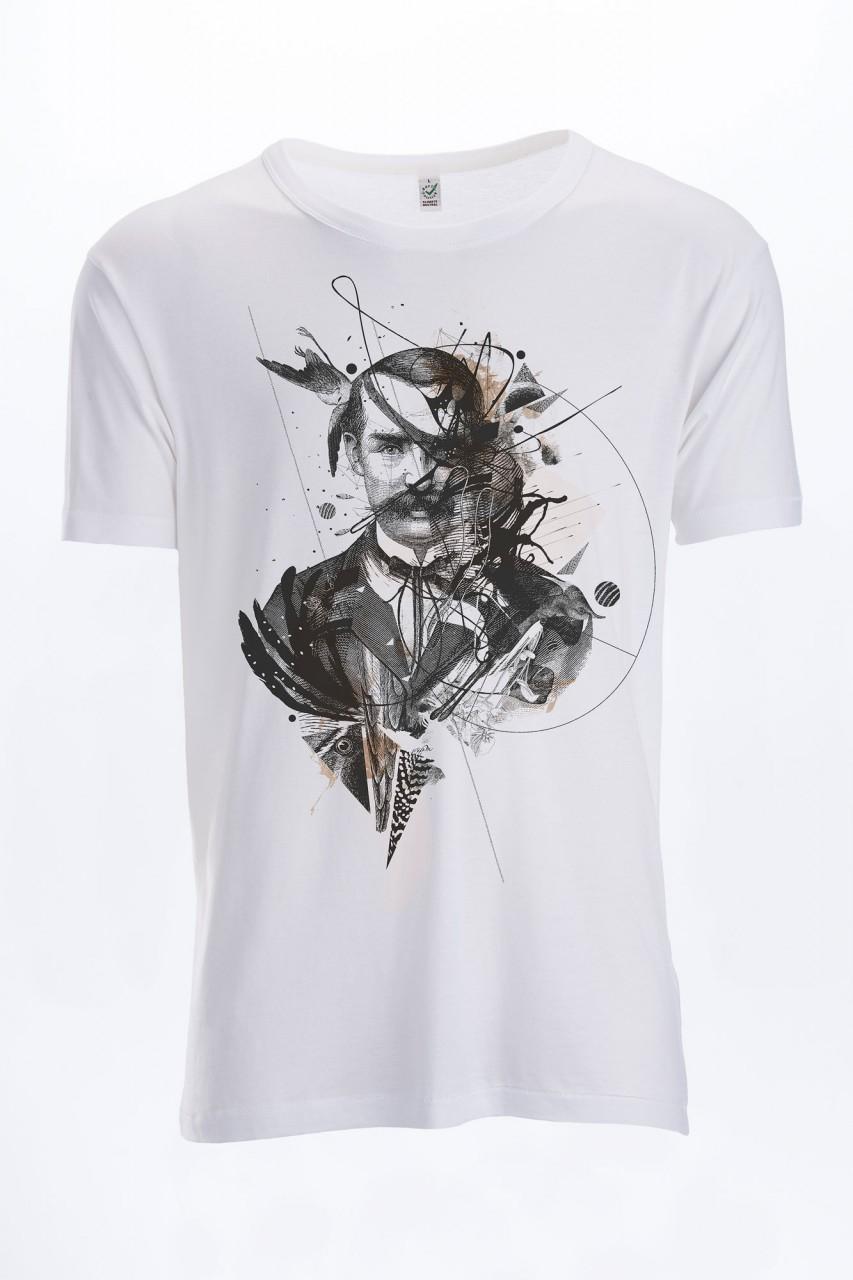 One Eyed Holz T-Shirt für Männer