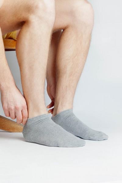3er Pack Herren Sneaker Socken aus Bio Baumwolle