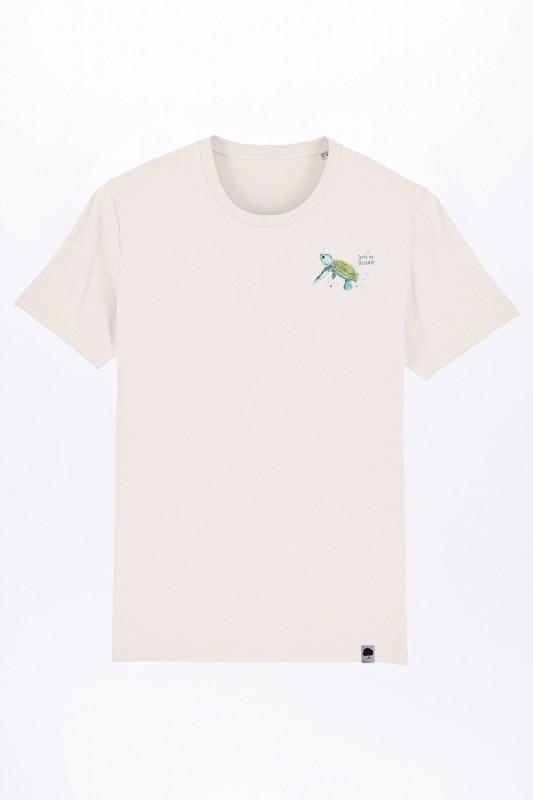 Baby Turtle Vintage White T-Shirt