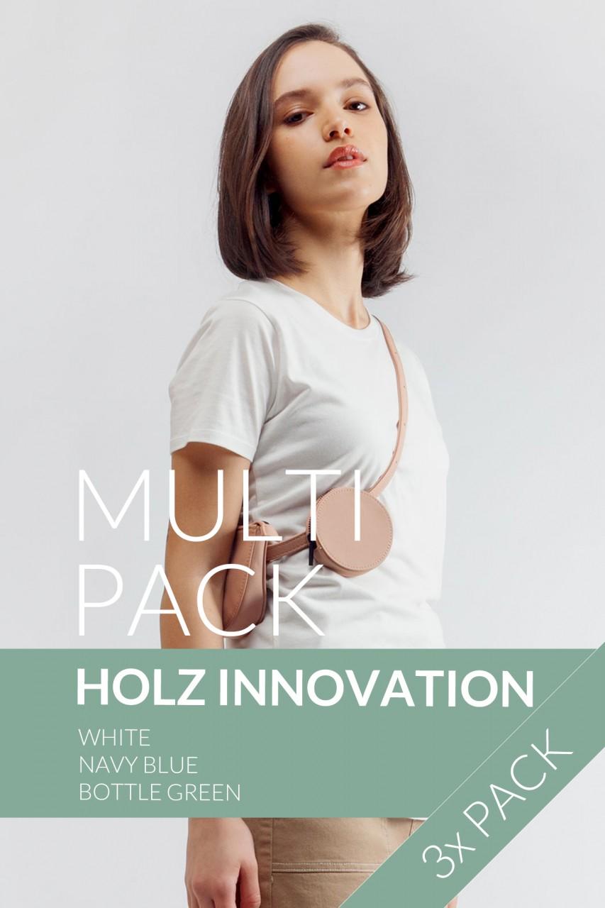 "3er Pack ""Holz Colour Mix"""