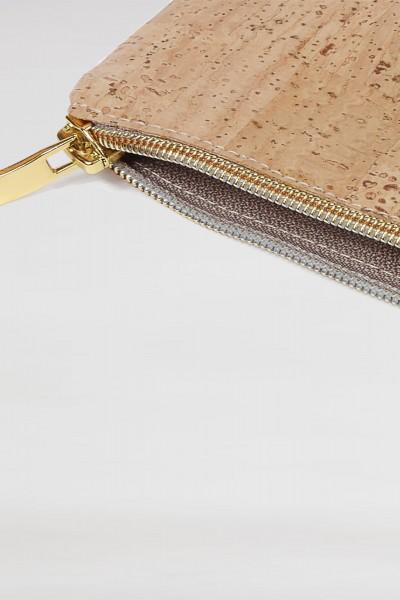 Universaltasche fuer Stifte, Kabel oder Kosmetik aus Kork