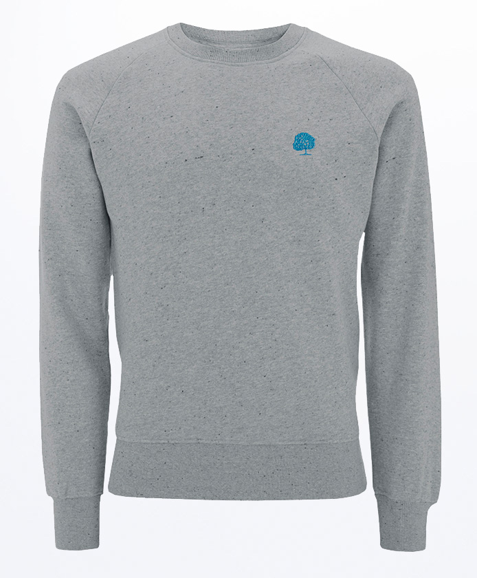 Maenner-Gepunktetes-Sweatshirt-Bio-Fair-Trade-Grey-Marl-EP65
