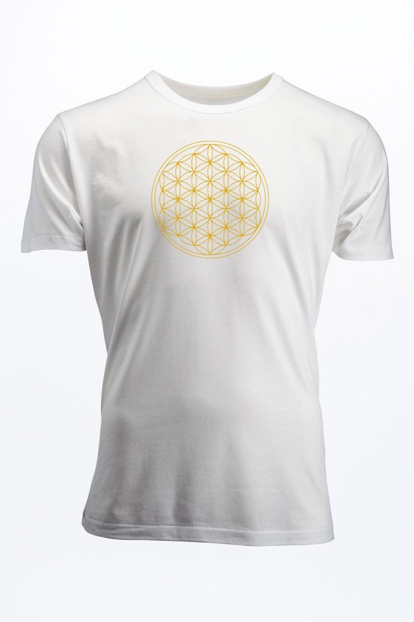 Blume des Lebens Bamboo T-Shirt für Männer