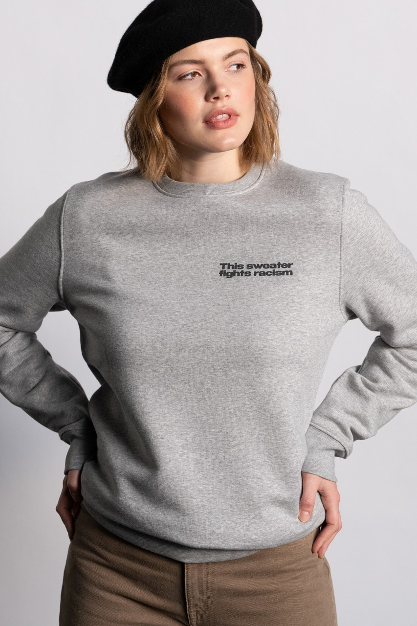 This sweater fights racism