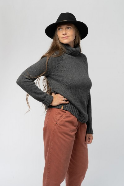 Turtleneck Sweater aus Wolle