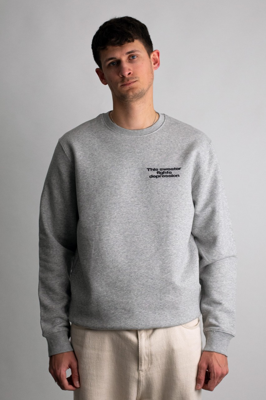 This sweater fights depression