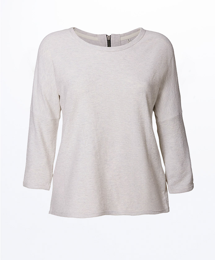 3-4-Sweatshirt-Frauen-Oeko-Mode-Cream-White