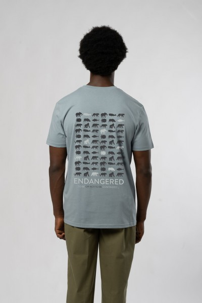 Endangered Double Print T-Shirt