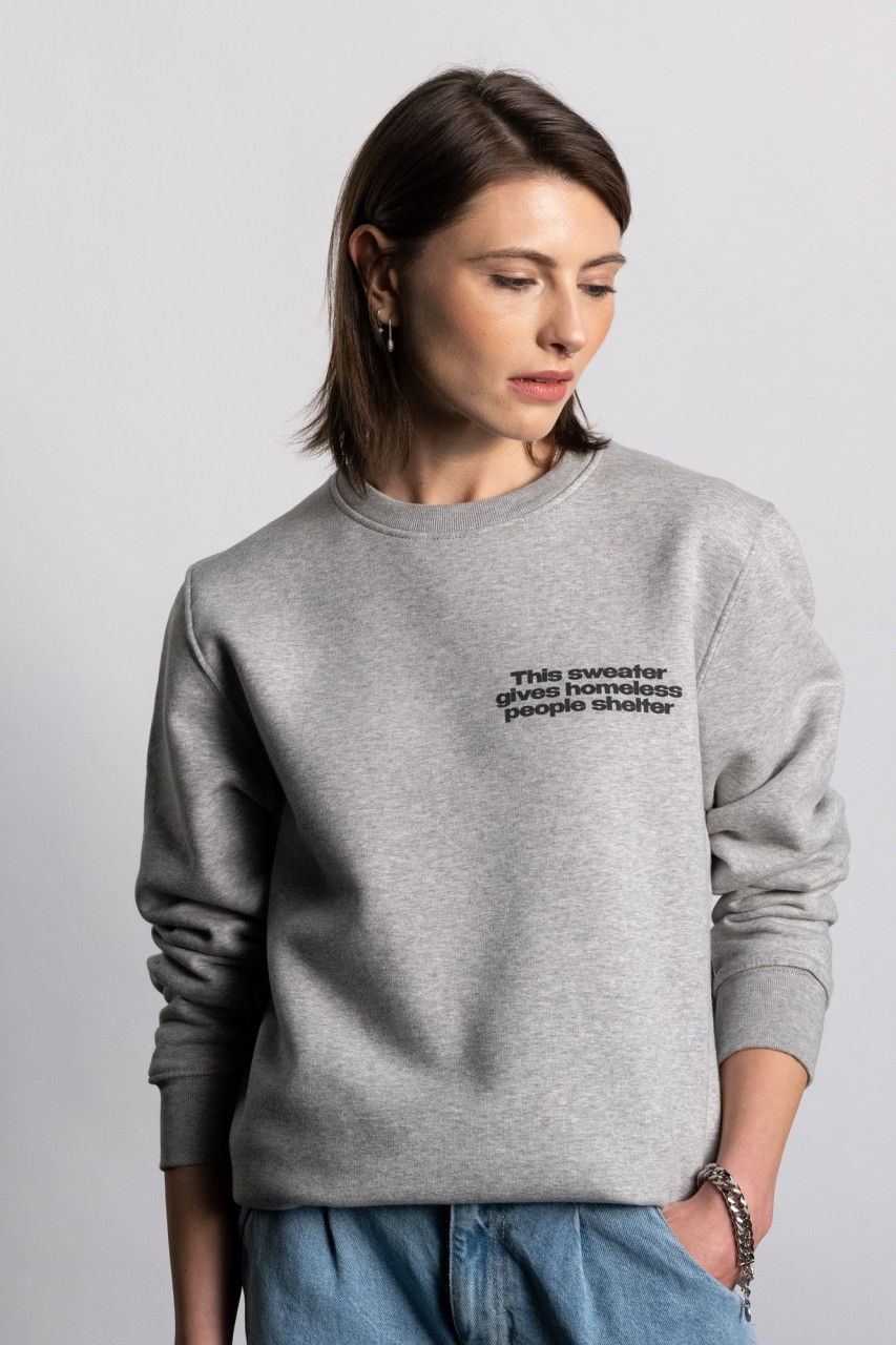 This sweater gives homeless people shelter