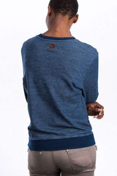 Denim Sweatshirt Fair Trade für Frauen