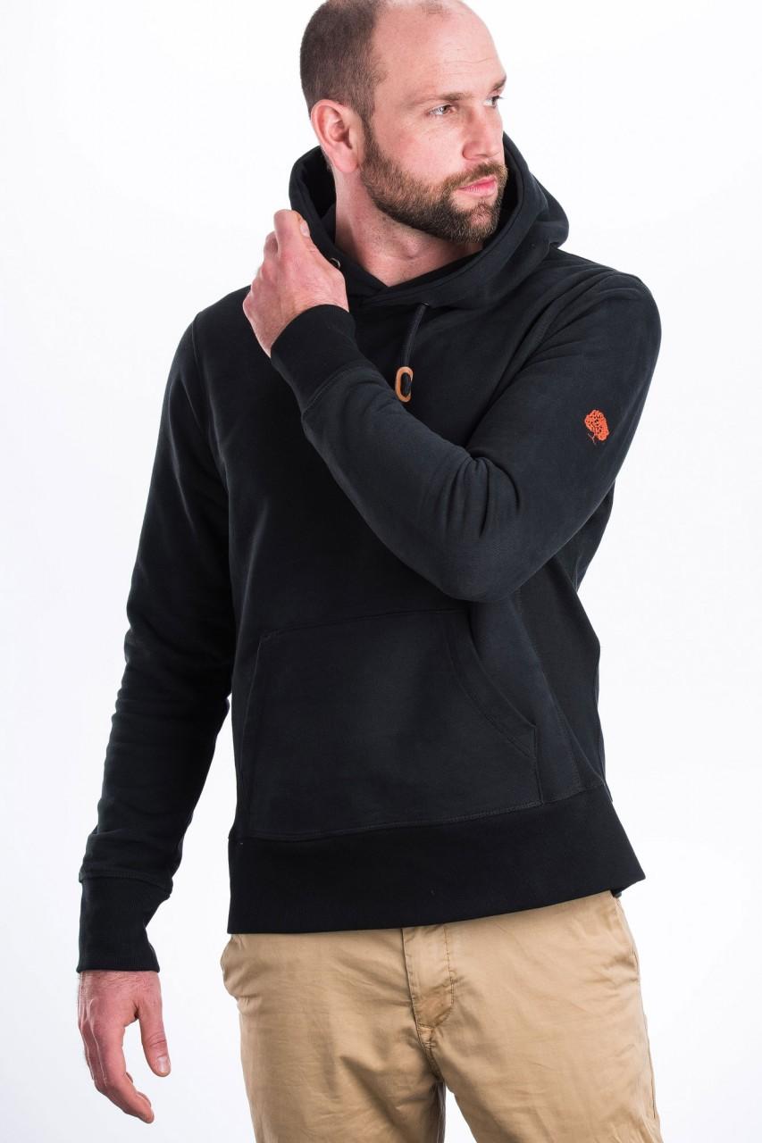 hoodie dick pullover mit kapuze nachhaltige keidung. Black Bedroom Furniture Sets. Home Design Ideas