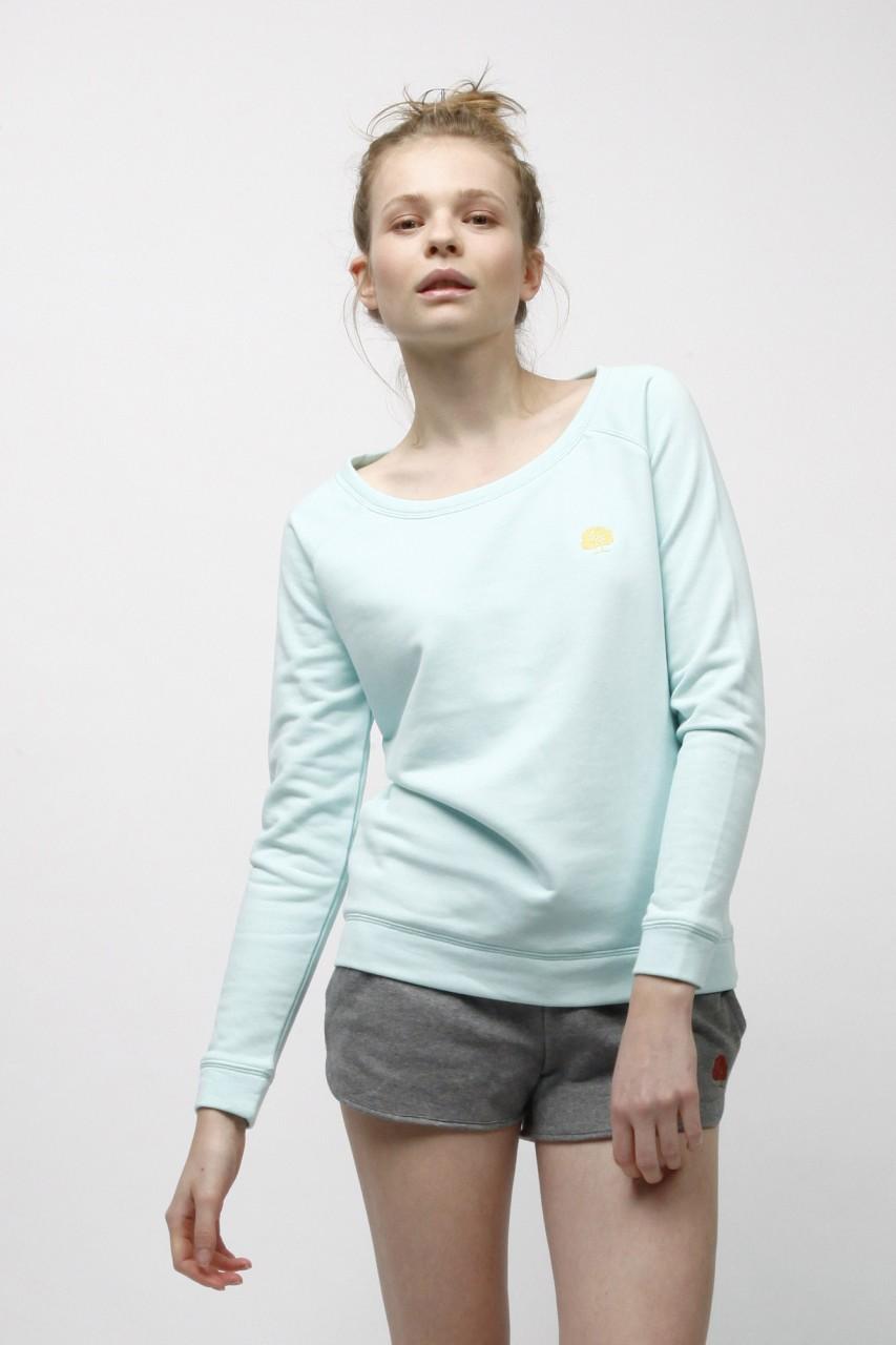 Standard Sweatshirt mit weitem Rundhalsausschnitt