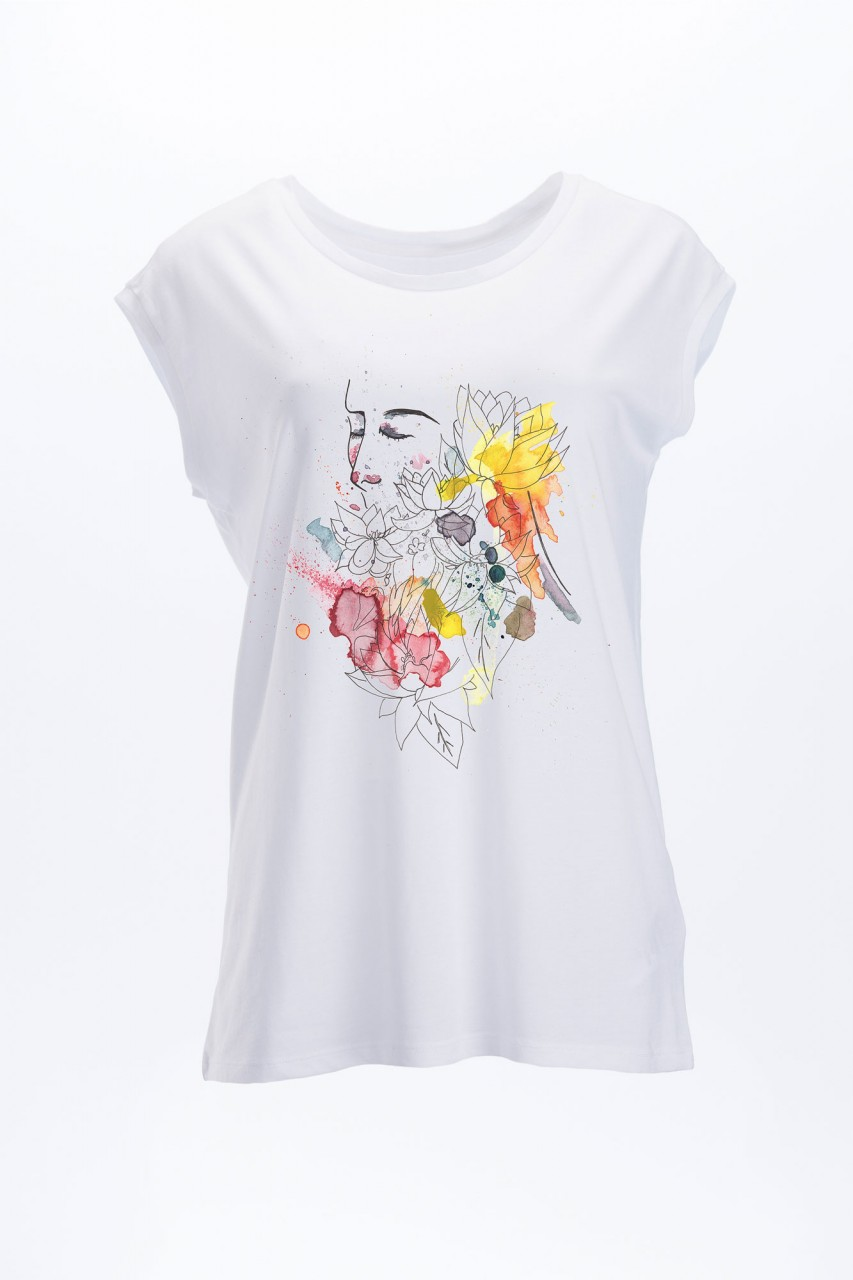 Flower Girl T-Shirt Tencel